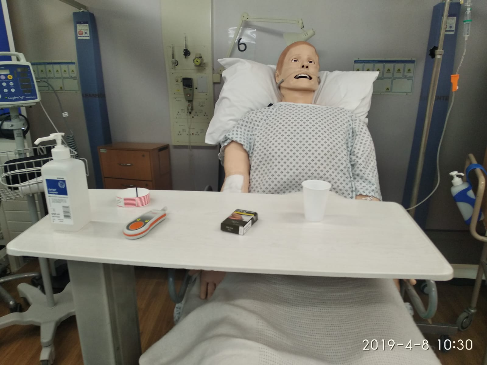 Manikin used in NMC OSCE