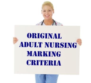 original adult nursing marking criteria for nmc osce exam