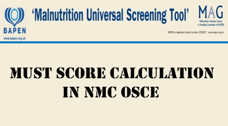 MUST for NMC OSCE